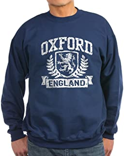 CafePress - Oxford England Sweatshirt (Dark) - Classic Crew Neck Sweatshirt Black