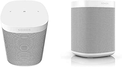​​​​​​​Sonos One SL - Microphone-Free Smart Speaker – White & Sonos One (Gen 2) - Voice Controlled Smart Speaker with Amaz...