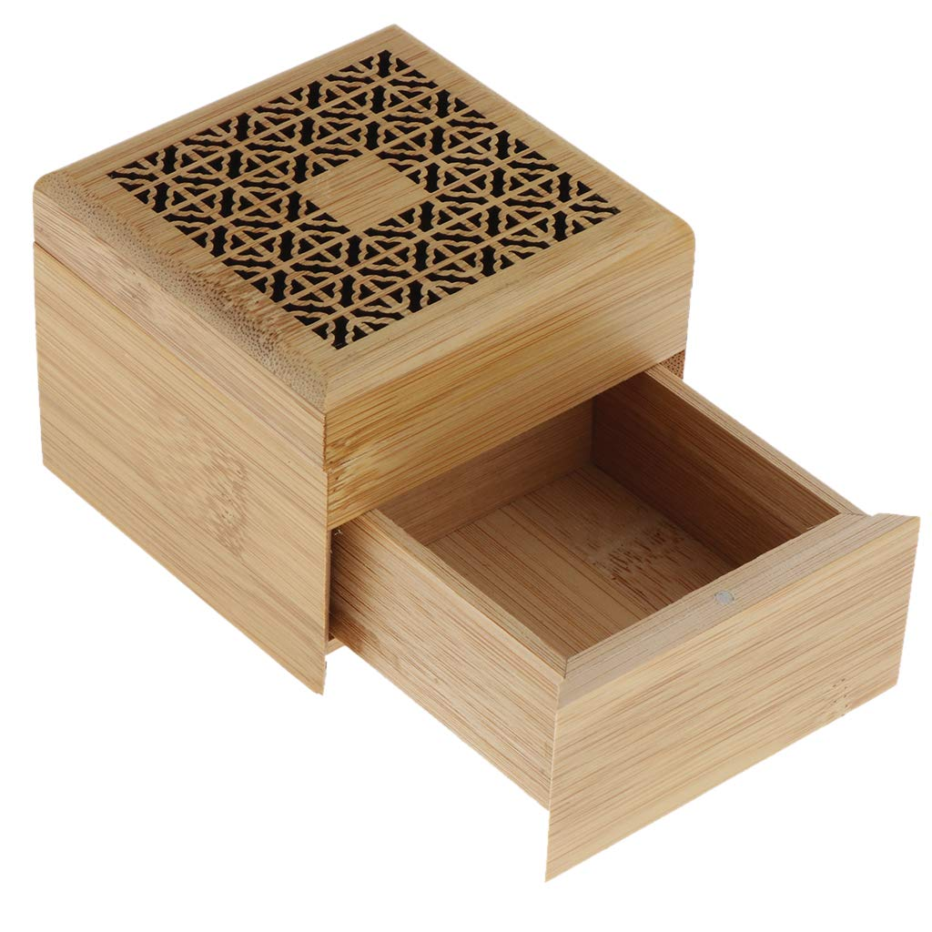 B Blesiya Quemador de Incienso Forma de Caja incesarios de Aropaterapia Estufa de Fragancia Ornamento para Hogar Sala de Estudio - Estilo 01: Amazon.es: Hogar