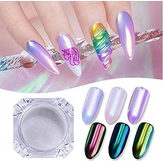 PiniceCore 0.5g Aurora Neon Chameleon Nail Scintillio Specchio di Arte del chiodo della Polvere del pigmento