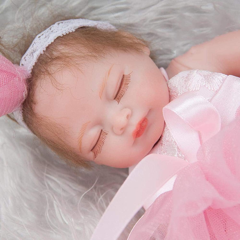 Hongge Reborn Bambola,Simulazione realistica del bambino della bambola del bambino di rinascita 28cm