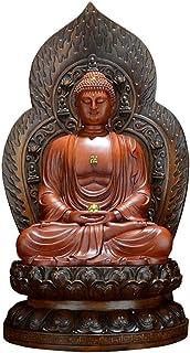 釈迦如来像 釈迦牟尼仏立像 樹脂製仏像 仏教美術品 開運/厄除け(19.5センチ)