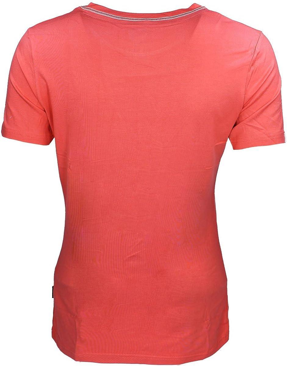 Horka Vegas Womens T Shirt Tee Equestrian Logo Short Sleeve Horse Riding Top New