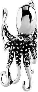 Stainless Steel Octopus Ear Cuff Single Earring