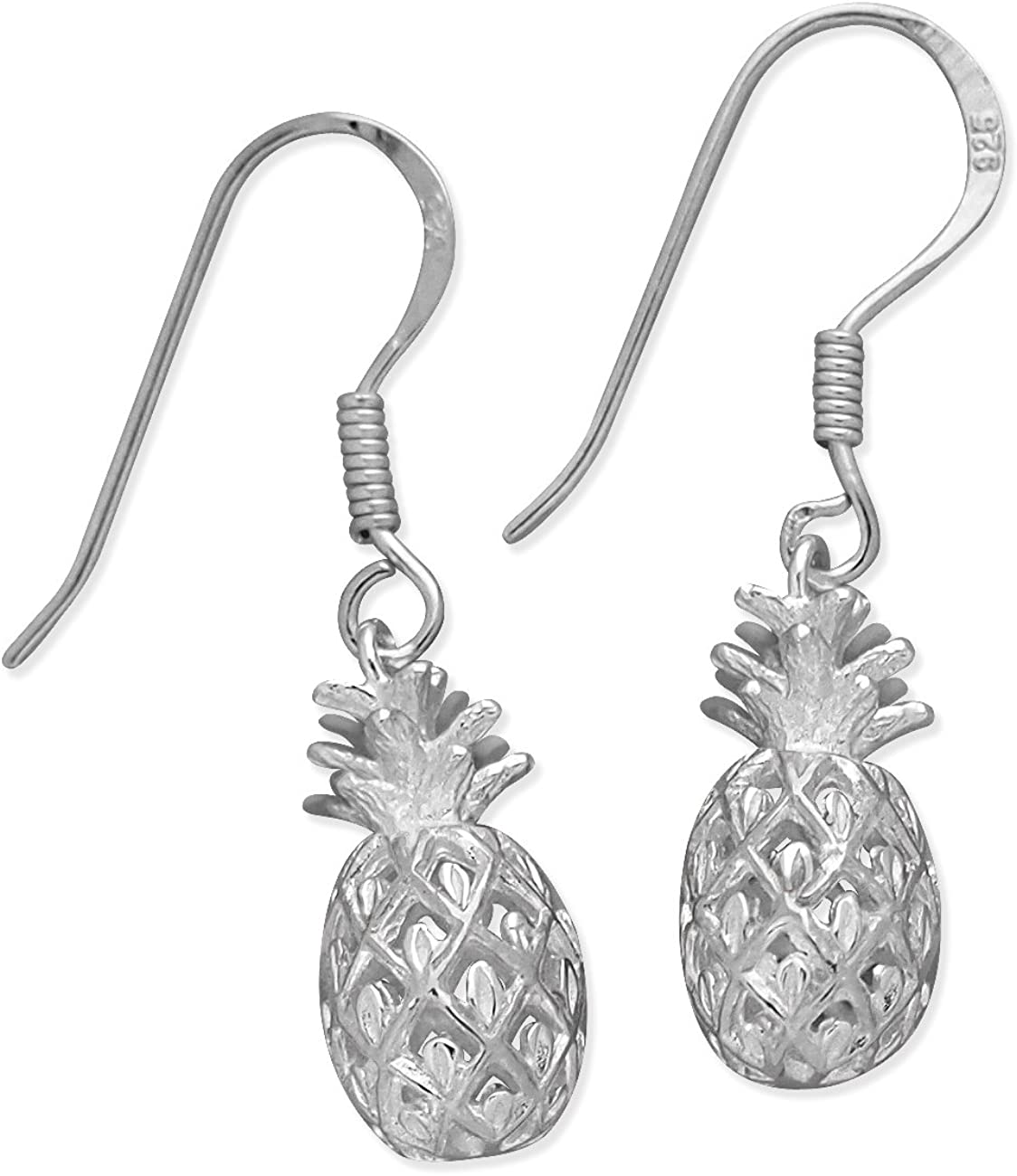 Sterling Silver Pineapple Earrings Ranking TOP14 Dangle sold out