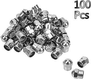 Tapones para v/álvulas de Coche 100 Unidades Hofmann Power Weight Color Negro