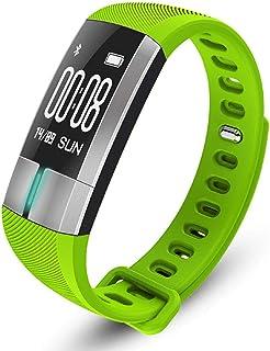 SXFYMWY Rastreador de Actividad ECG detección de frecuencia cardíaca Bluetooth monitorización podómetro multifunción Deportes Impermeable Pulsera Inteligente