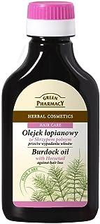 ELFA PHARM Green Pharmacy olej do wspinaczki z ziołami, przeciw wypadaniu włosów, 100 ml