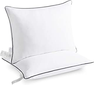 Basic Beyond Hotel Quality Down Alternative Pillows for Sleeping 2 Pack Hypoallergenic Ultra Soft Skin-Friendly Premium Plush Loft Relief for Neck Pain Bed Pillow 20x36