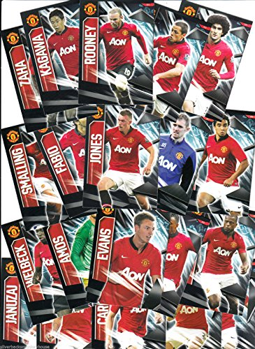 Panini Manchester United Trikot Home 2014 Base-Set, für 30 Karten