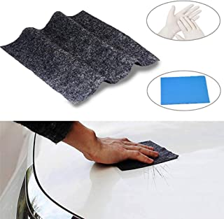 Dualshine Car Scratch Remover Cloth, Magic Paint Scratch Removal- 1 Pack with Accessories, Car Scratch Repair Kit for Repairing Car Scratches and Light Paint Scratches Remover Scuffs on Surface