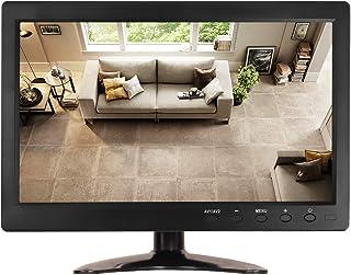 "JOHNWILL 10.1"" LCD TFT Screen PC Monitor 1366X768 Full View HDMI Industrial LED Screen Display with HDMI/VGA/AV-BNC/USB In..."