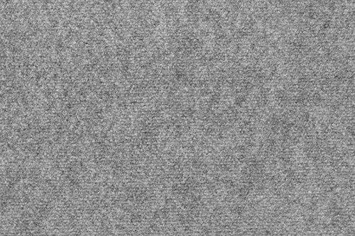 Teppichboden Milo von andiamo aus Nadelfilz, robust, pflegeleicht, Büroteppich, Farbe:Grau, Größe:200 x 500 cm