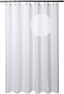Amazon Com Shower Curtains White Shower Curtains Shower Curtains Hooks Liners Home Kitchen