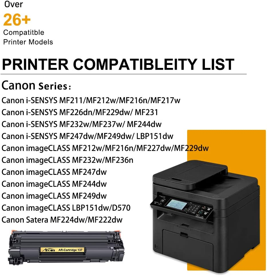 Arcon Compatible Toner Cartridge Replacement for Canon 20 Cartridge 20  Canon Imageclass MF20n LBP20dw MF20n MF20dw MF20dw MF20w MF20dw ...