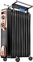 Zzq- Radiador De Aceite De 9/11/13/15 Elementos, 1500/2000W Watios, Dispone De 3 Ajustes De Potencia Y Control Termostático De Temperatura