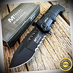 8.75'' BLACK Military USA Spring Assisted Open Pocket Knife CUSTOMER SUPPORT. Please feel free to contact us if you have any concern about this item. We will try our best to promise you an enjoyable shopping experience. Look forward to your 5 star re...