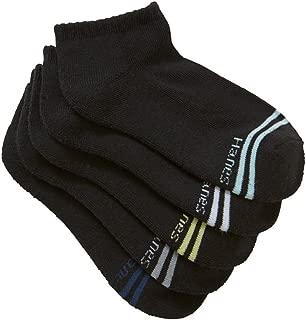 Hanes Kids Cotton Blend Active Low Cut Socks (5 Pack)