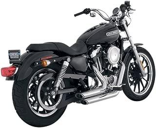 Vance And Hines Chrome Shortshots Staggered Exhaust System For Harley Davidson XL 883 (EFI)/XL 1200C (EFI)/XL 883C (EFI)/ XL 1200L (EFI)/ XL 883L (EFI)/XL 1200N (EFI)/XL 1200R (EFI) 2007-2008 / XL 883R (EFI) 2007 / XL 883/XL 1200R 2004-2006 / XL 883