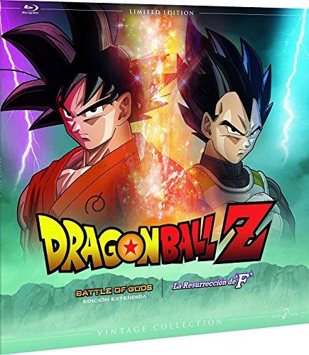 Dragon Ball Z - La Batalla De Los Dioses   La Resurrección Colección Vintage (Funda Vinilo) Blu-Ray [Blu-ray]