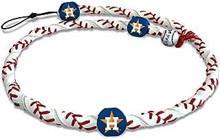 MLB Houston Astros CFR-MLB-HOA-1-C Houston Astros Classic Frozen Rope Baseball Necklace,One Size,