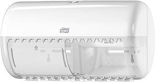 Tork 557000 Distributeur pour papier toilette conventionnel / traditionnel T4 - Design Elevation - Blanc