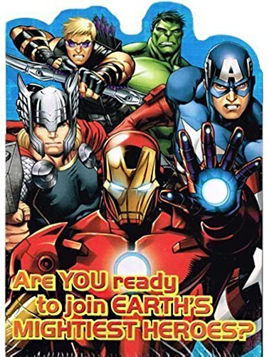 Avengers 'Assemble' Invitations and Thank You Notes w  Envelopes (8ct ea.) by Hallmark Party