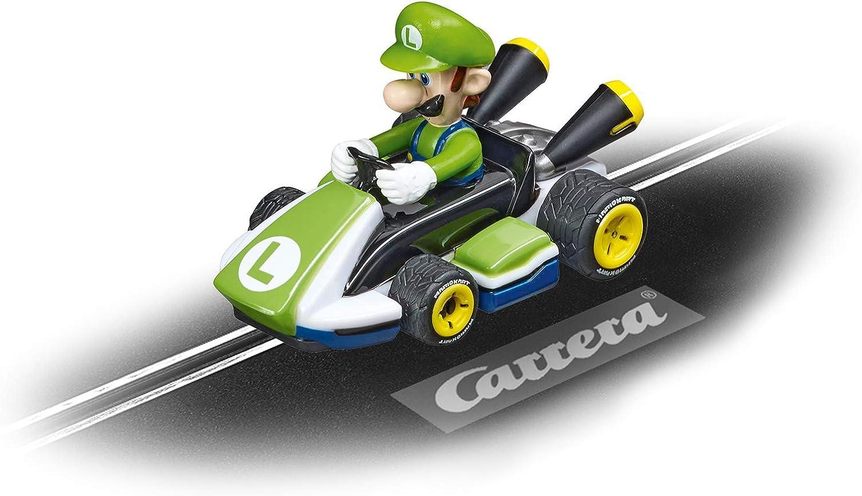 Carrera 20065020 Max 87% OFF First Slot Kart-Luigi Mario Nintendo Car OFFicial site