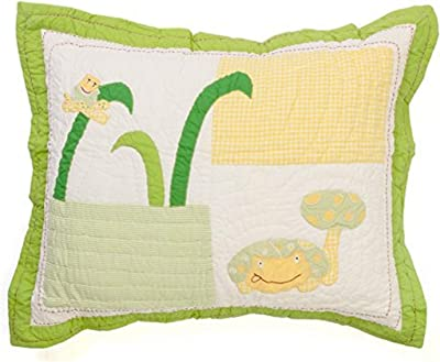 Be-You-tiful Home Frog Standard Sham, Multicolor