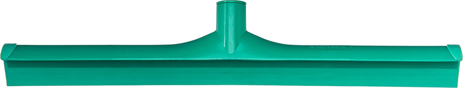 Carlisle 3656709 Solid One-Piece Foam Rubber Head Floor Squeegee, 20  Length, Green (Case of 6)