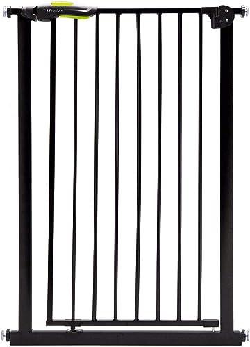 Venture - Barrière de sécurité Q-Fix à fixation par pression extra-haute pour animal domestique, ouverture à 90° dan...