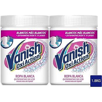 Vanish Quitamanchas Ropa Polvo sin Lejía Pink, 900g, Pack de 1 ...