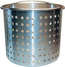 Winware B001CHKLJA Professional Aluminum Steamer Basket Fits 32-Quart Stock Pot, Silver