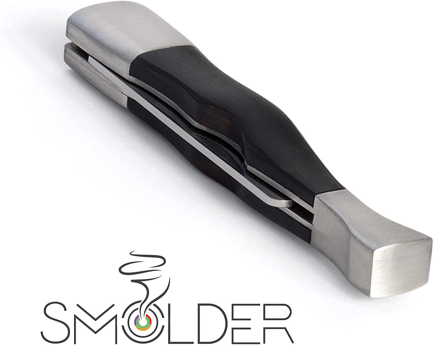 3-n-1 Tobacco Pipe Tool - Rosewood and T Steel. price 3 Stainless in High order 1