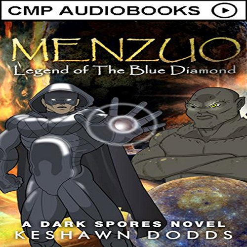 Menzuo: Legend of The Blue Diamond  audiobook cover art