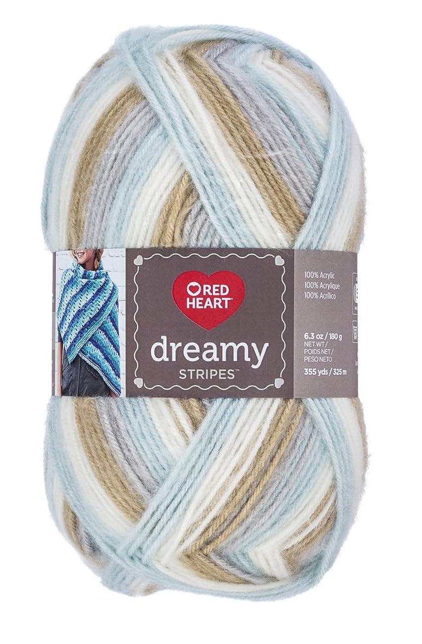Red Heart Dreamy Stripes, Calm Breeze Yarn,