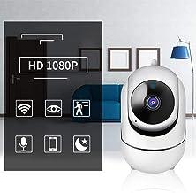 Surveillance Recorder Intelligent High-Definition Wireless Camera Home Indoor WiFi Remote Surveillance Camera Home Monitor...