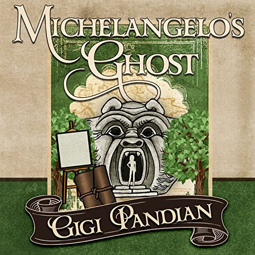 Michelangelo's Ghost audiobook cover art