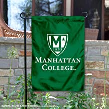 College Flags and Banners Co. Manhattan Jaspers Academic Logo Garden Flag
