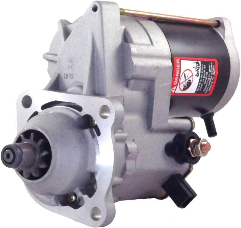 Rareelectrical NEW 24V 5.5KW Ranking TOP9 STARTER COMPATIBLE EXC Ranking TOP17 WITH KOMATSU