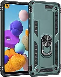 جراب Minwu لهاتف Nokia C1، مع مسند حلقي واقٍ للهاتف بالكامل مصنوع من جل البولي يوريثان اللدن بالحرارة من السيليكون والبولي...