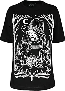 Restyle Burn The Witch Wicca Witchcraft Gothic Oversized T-Shirt