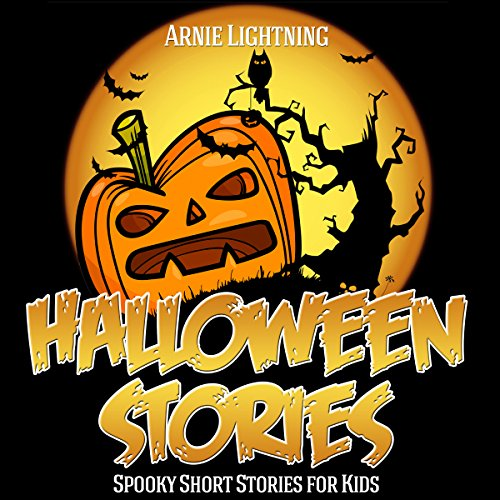 Page de couverture de Halloween Stories for Kids: Scary Halloween Short Stories, Activities, Jokes, and More!