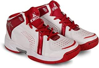 KWICKK Unisex Imported PU Professional Basketball Shoes Slam Dunk for Men