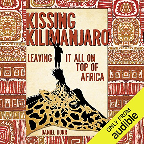 Kissing Kilimanjaro audiobook cover art