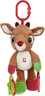 KIDS PREFERRED Rudolph The Red-Nosed Reindeer On The Go Teether Developmental Activity Toy