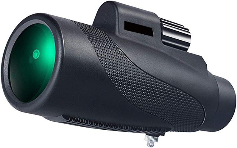 JIAWYJ Télescope Portatif, Tube Simple Portatif Imperméable Et Anti Buée 12x50