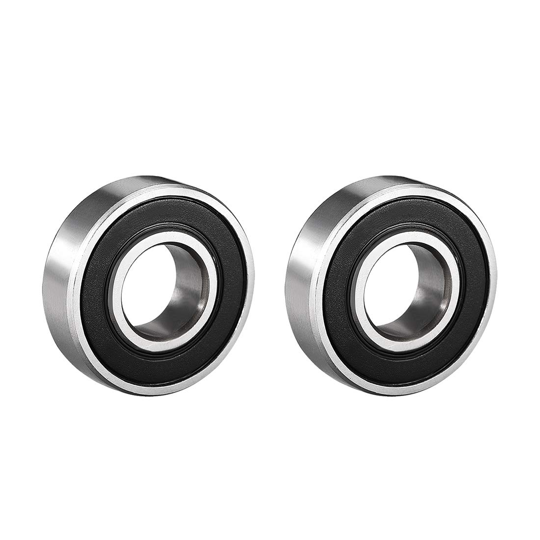 uxcell 6001-2RS Ball Bearing 12mm x 8mm 28mm Classic 180 Sealed Double Cheap bargain