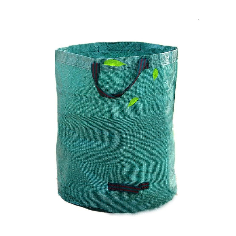 知事不幸放棄されたLJJNYLJD 庭用ゴミ袋大型強力防水頑丈な再利用可能な折り畳み式ごみ袋 (Size : Small)