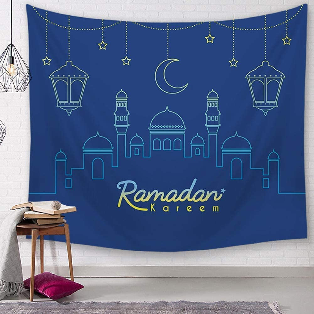 Wall Tapestry Ramadan Max 61% OFF Decoration OFFicial shop Tapes Decorations Home